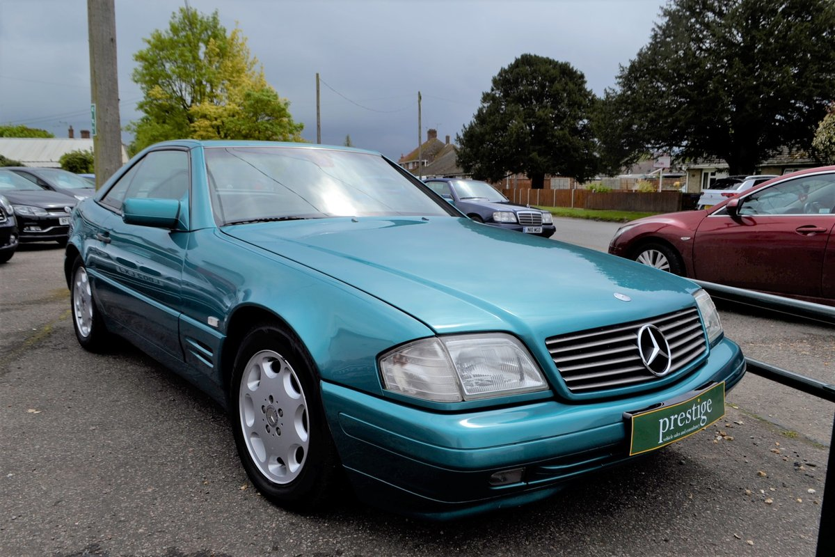 1997 Mercedes SL 280 + hard and soft top SOLD (picture 2 of 15)