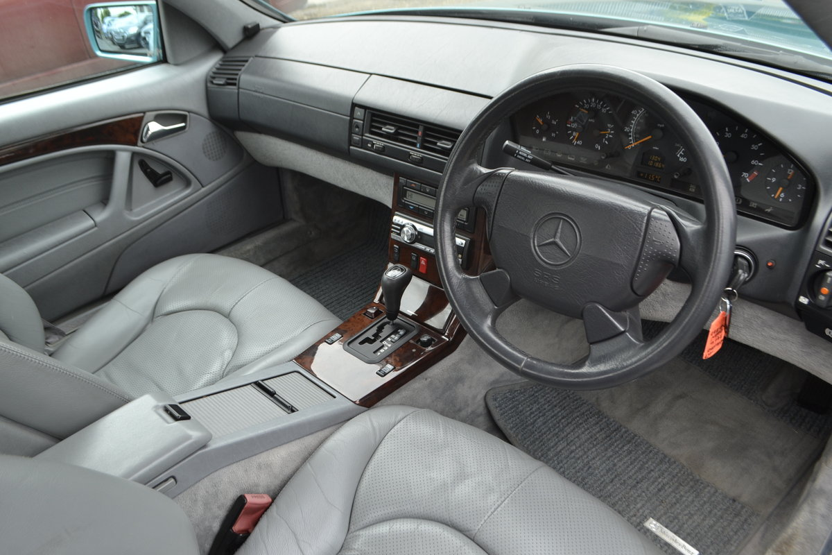 1997 Mercedes SL 280 + hard and soft top For Sale (picture 4 of 12)