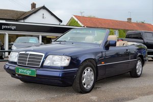 1996 Mercedes E220 Cabriolet – 4 seater For Sale