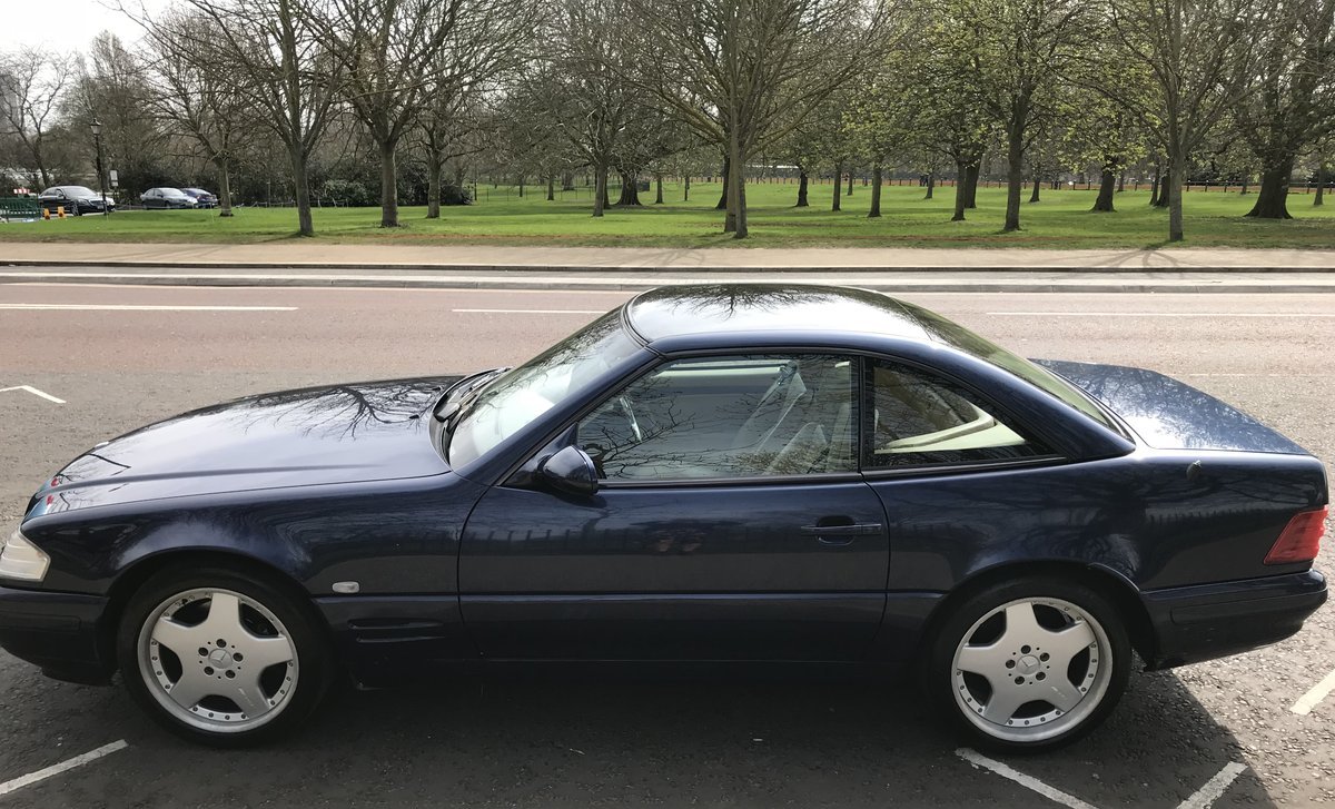 1998 Mercedes SL320, Low Mileage, Fantastic Condition For Sale (picture 3 of 6)