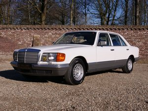 1983 Mercedes Benz 500SEL only 53.794 km, top original condition For Sale
