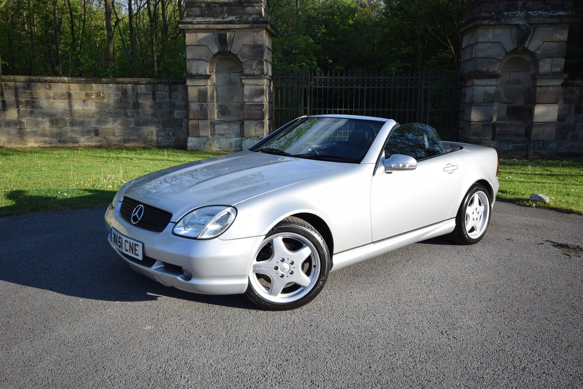 2001 SLK 320 R170 Fctry AMG kit, Rare 6 Spd, Low Miles For Sale (picture 1 of 6)