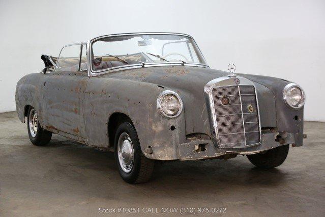 1960 Mercedes-Benz 220SE Cabriolet For Sale (picture 1 of 6)