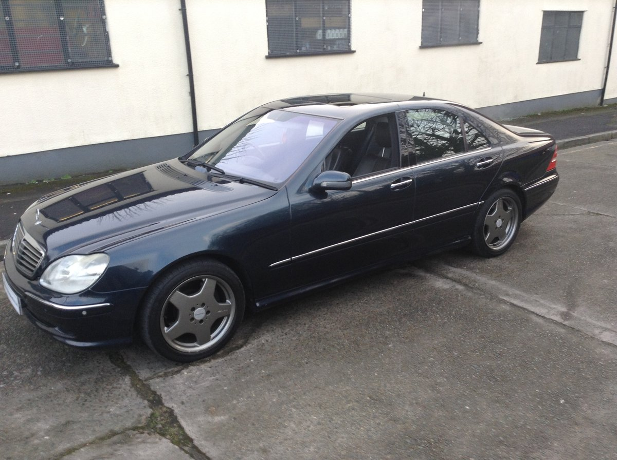2005 Mercedes S55 Amg auto - cost circa £119k new px classic why For Sale (picture 1 of 6)