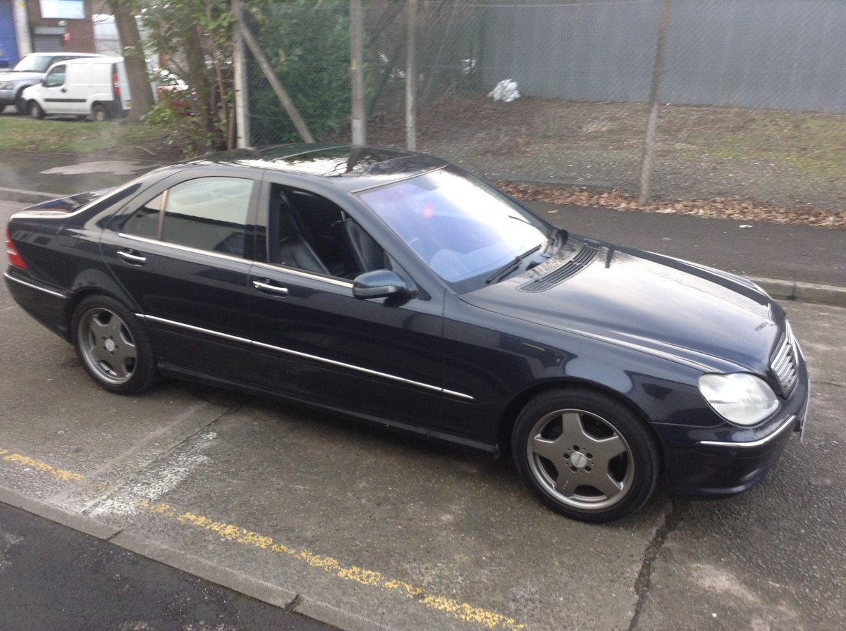 2005 Mercedes S55 Amg auto - cost circa £119k new px classic why For Sale (picture 2 of 6)