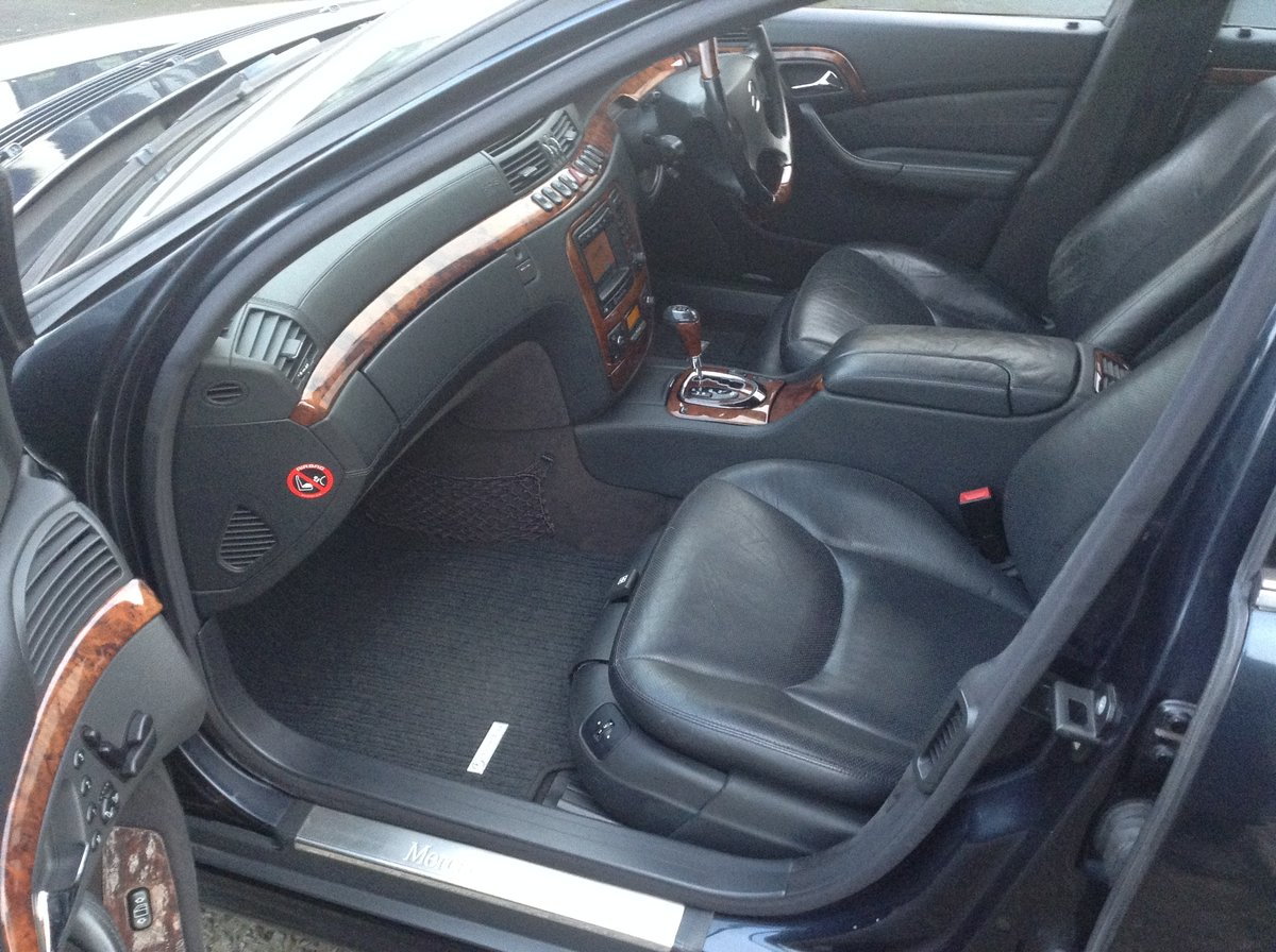 2005 Mercedes S55 Amg auto - cost circa £119k new px classic why For Sale (picture 4 of 6)