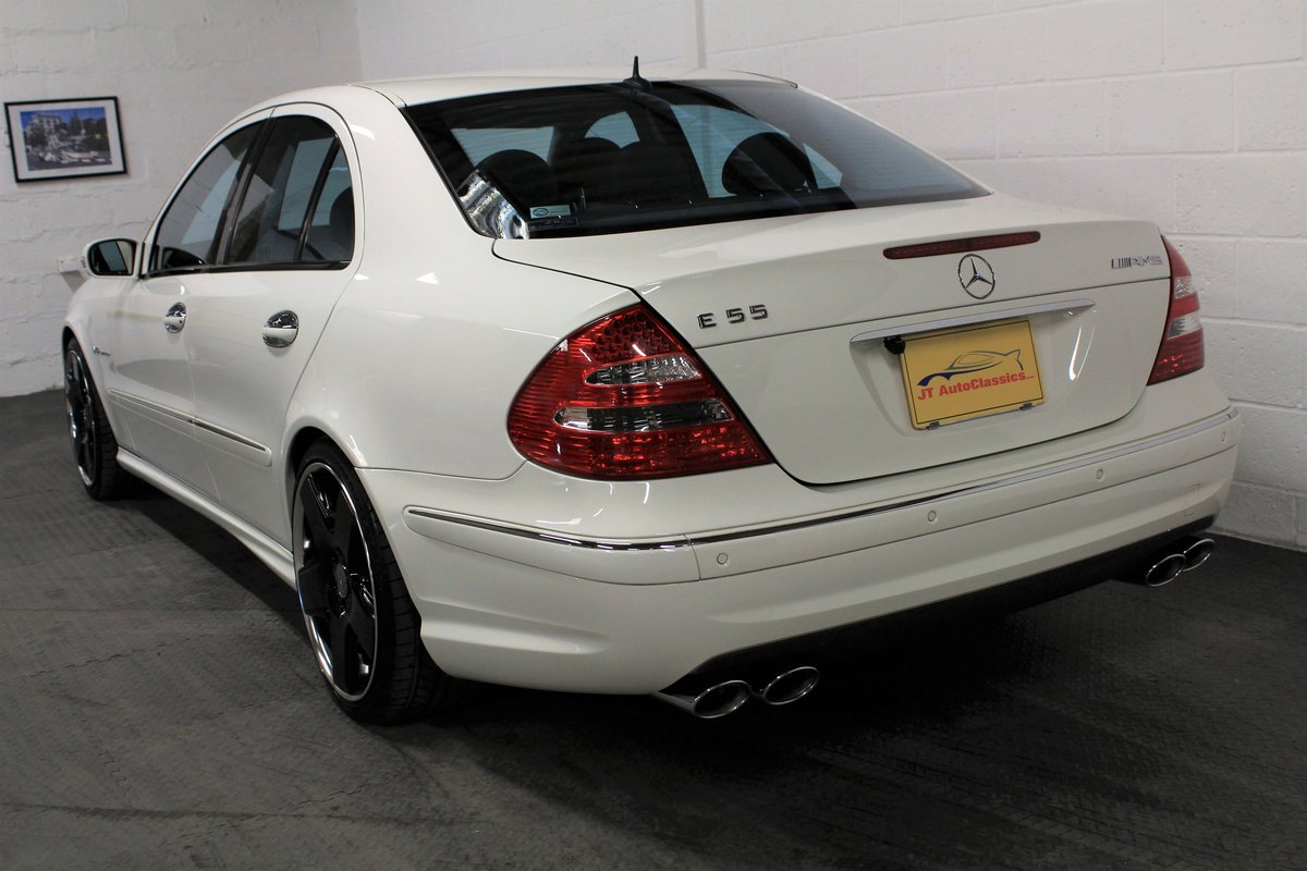 2005 Mercedes-Benz W211 E55 AMG,24,887 miles,Alabaster white For Sale (picture 3 of 6)