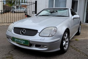 2000 Mercedes SLK 320 - 6 Speed Manual - Convertible For Sale