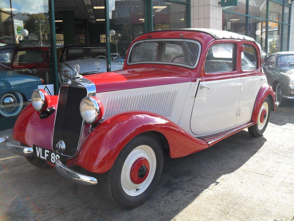 Mercedes V170 Cabrio-Limousin style 1936 Fully restored For Sale (picture 1 of 6)
