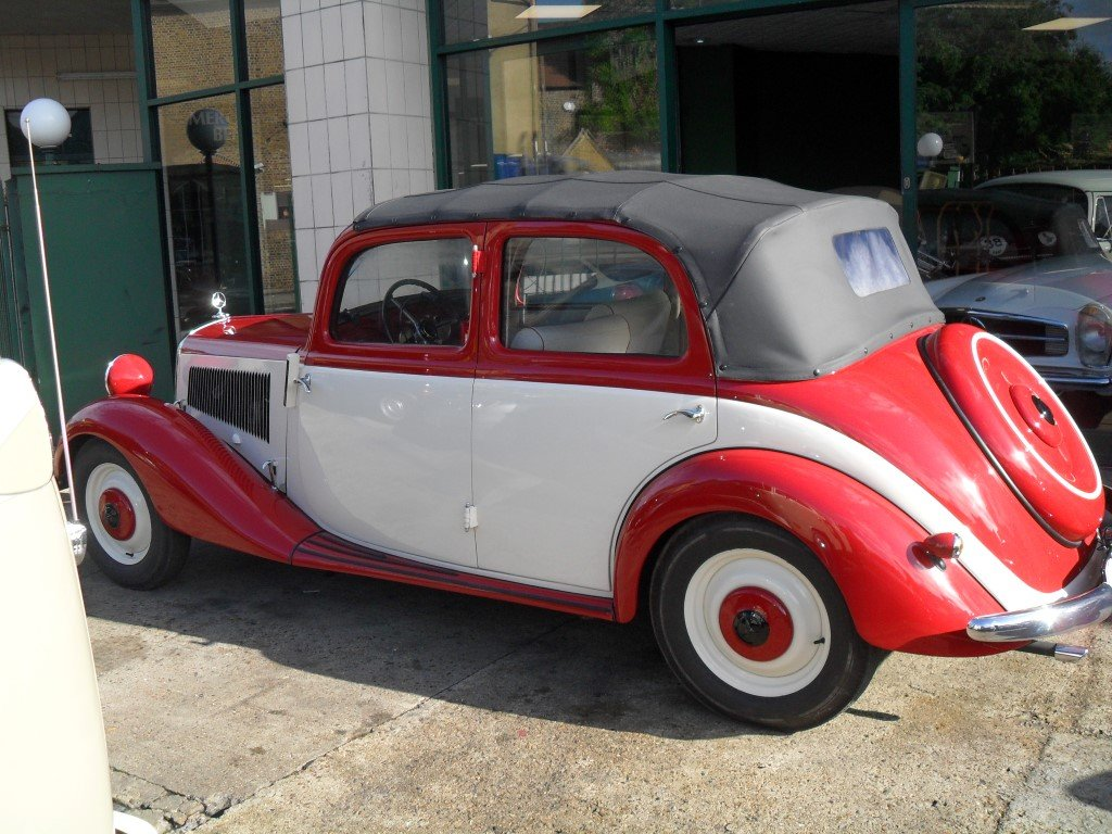 Mercedes V170 Cabrio-Limousin style 1936 Fully restored For Sale (picture 2 of 6)