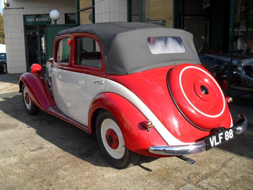 Mercedes V170 Cabrio-Limousin style 1936 Fully restored For Sale (picture 3 of 6)