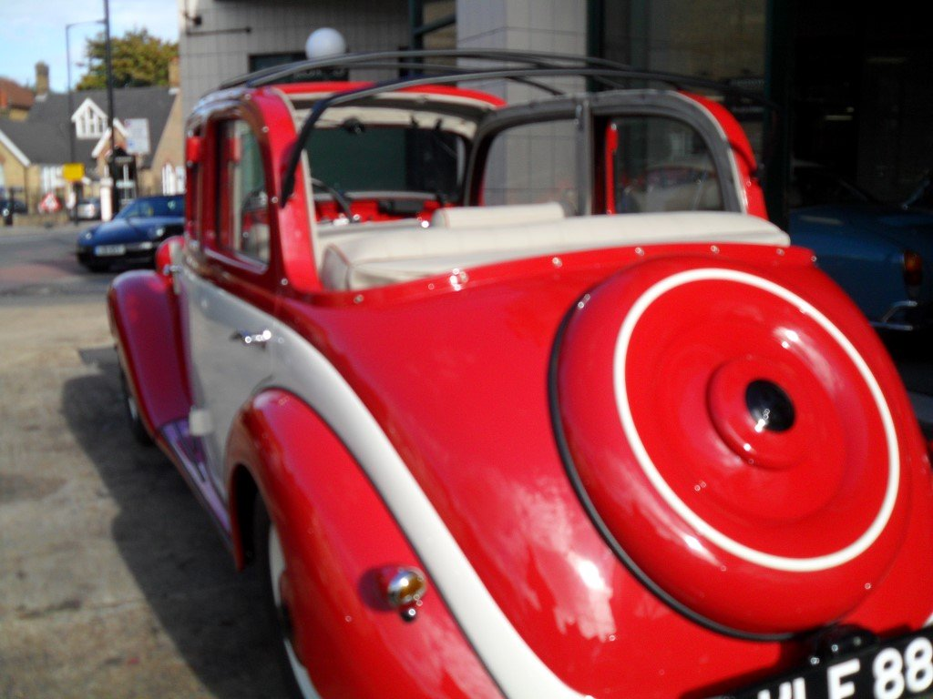 Mercedes V170 Cabrio-Limousin style 1936 Fully restored For Sale (picture 4 of 6)
