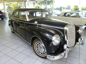 1954 Mercedes 300a Adenauer of King Idris father, original invoic SOLD