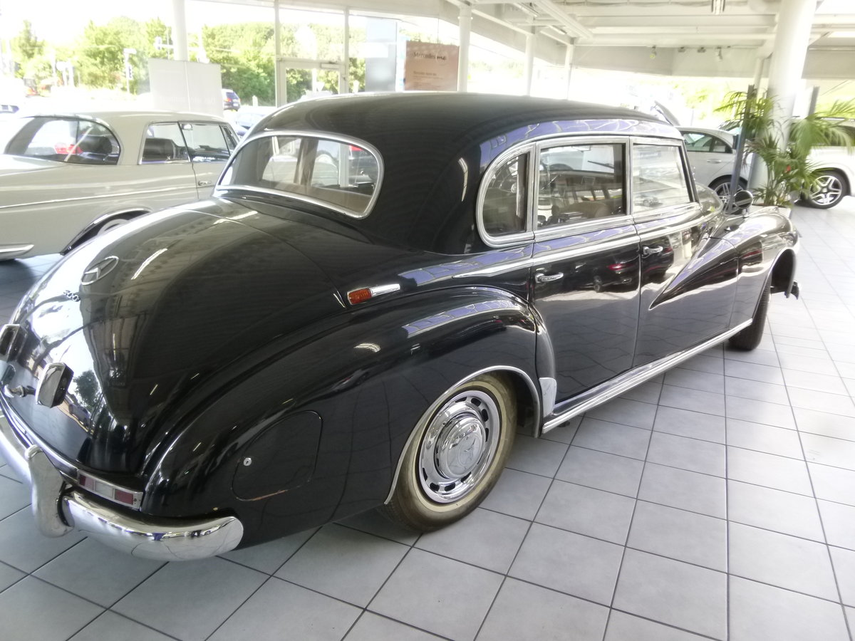 1954 Mercedes 300a Adenauer of King Idris father, original invoic SOLD (picture 3 of 6)