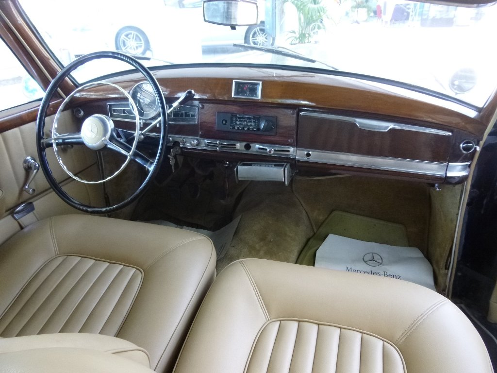1954 Mercedes 300a Adenauer of King Idris father, original invoic SOLD (picture 4 of 6)