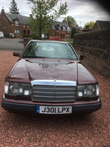 1992 Mercedes 300CE-24 at Morris Leslie Auctions 25th May SOLD by Auction (picture 1 of 6)