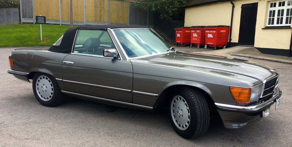1981 MECEDES 500SL R107 For Sale (picture 2 of 6)