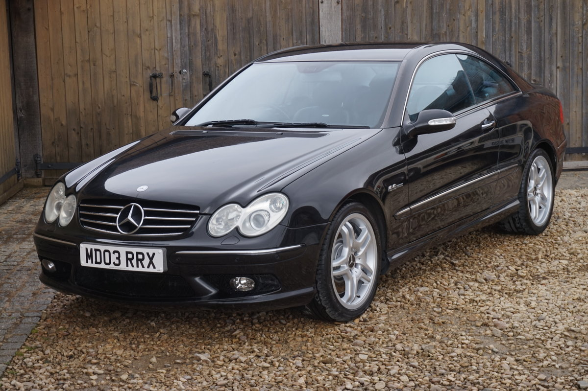 2003 MERCEDES BENZ CLK 55 AMG COUPE 5.4 AUTO For Sale (picture 1 of 6)