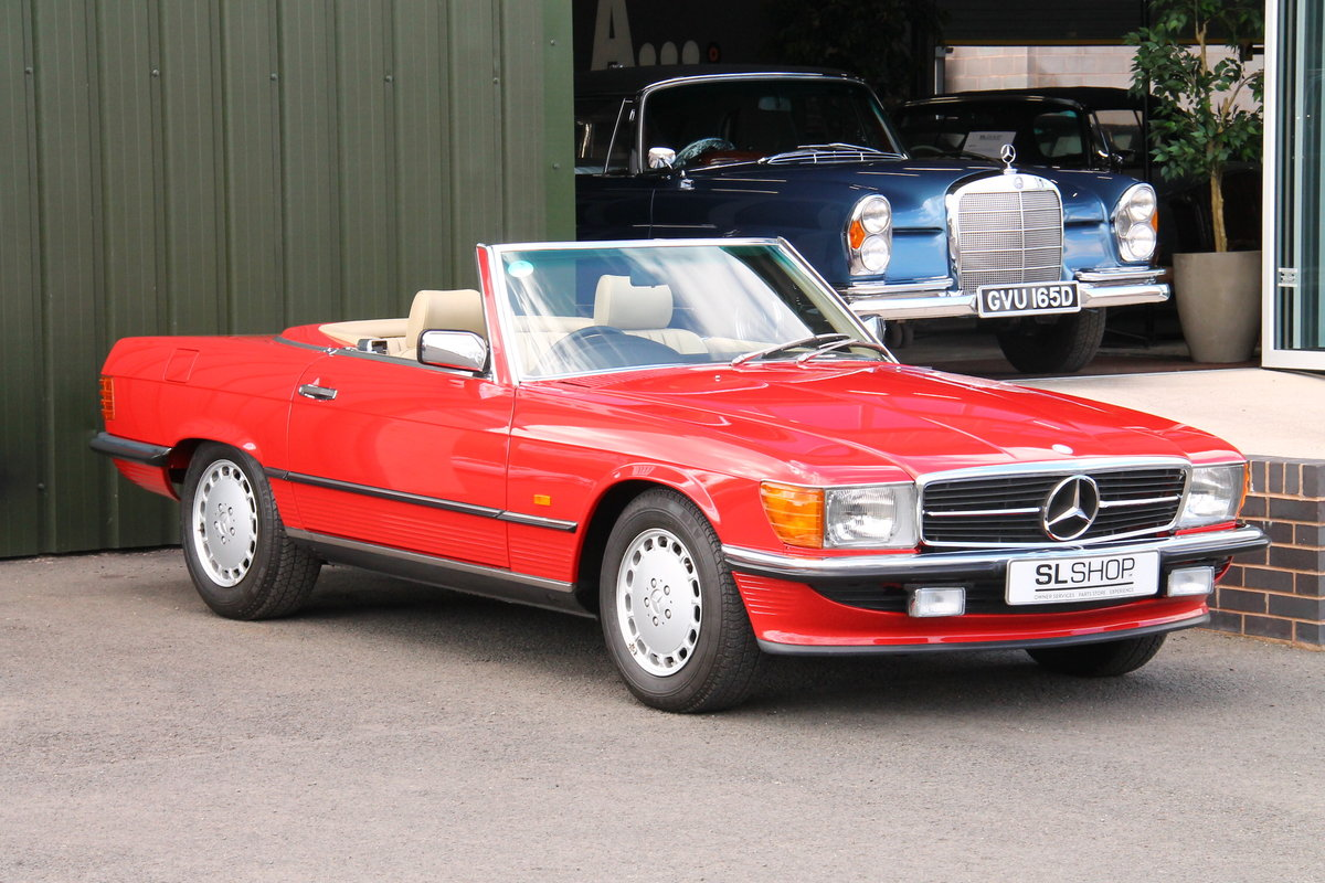 1989 Mercedes-Benz 300SL (R107) Just 1,999 Miles #2109 For Sale (picture 1 of 6)