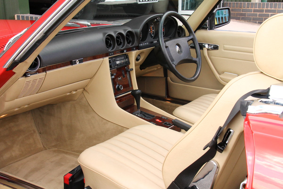 1989 Mercedes-Benz 300SL (R107) Just 1,999 Miles #2109 For Sale (picture 3 of 6)