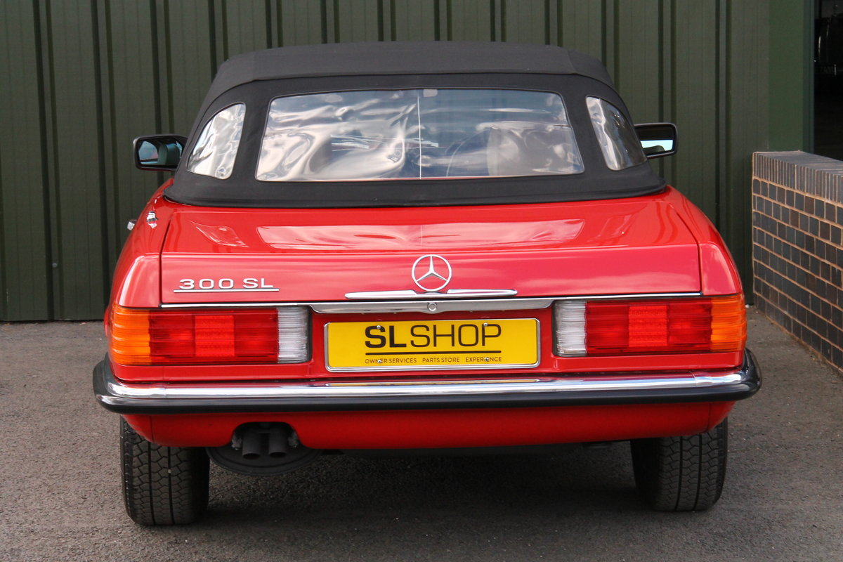 1989 Mercedes-Benz 300SL (R107) Just 1,999 Miles #2109 For Sale (picture 6 of 6)