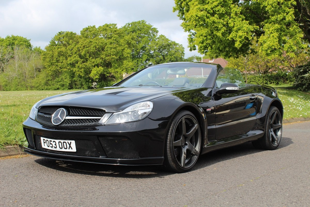 Mercedes SL55 AMG Brabus K8 2003 - To be auctioned 26/07/19 For Sale by Auction (picture 1 of 6)