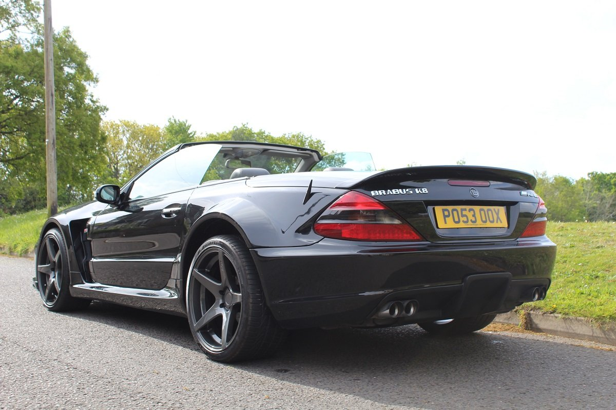 Mercedes SL55 AMG Brabus K8 2003 - To be auctioned 26/07/19 For Sale by Auction (picture 2 of 6)