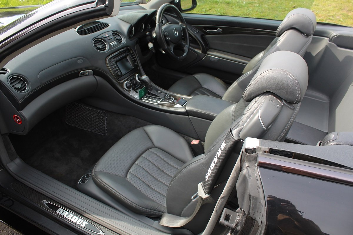 Mercedes SL55 AMG Brabus K8 2003 - To be auctioned 26/07/19 For Sale by Auction (picture 3 of 6)