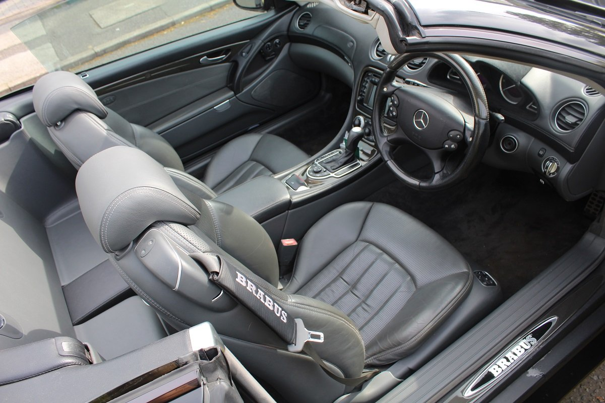 Mercedes SL55 AMG Brabus K8 2003 - To be auctioned 26/07/19 For Sale by Auction (picture 4 of 6)