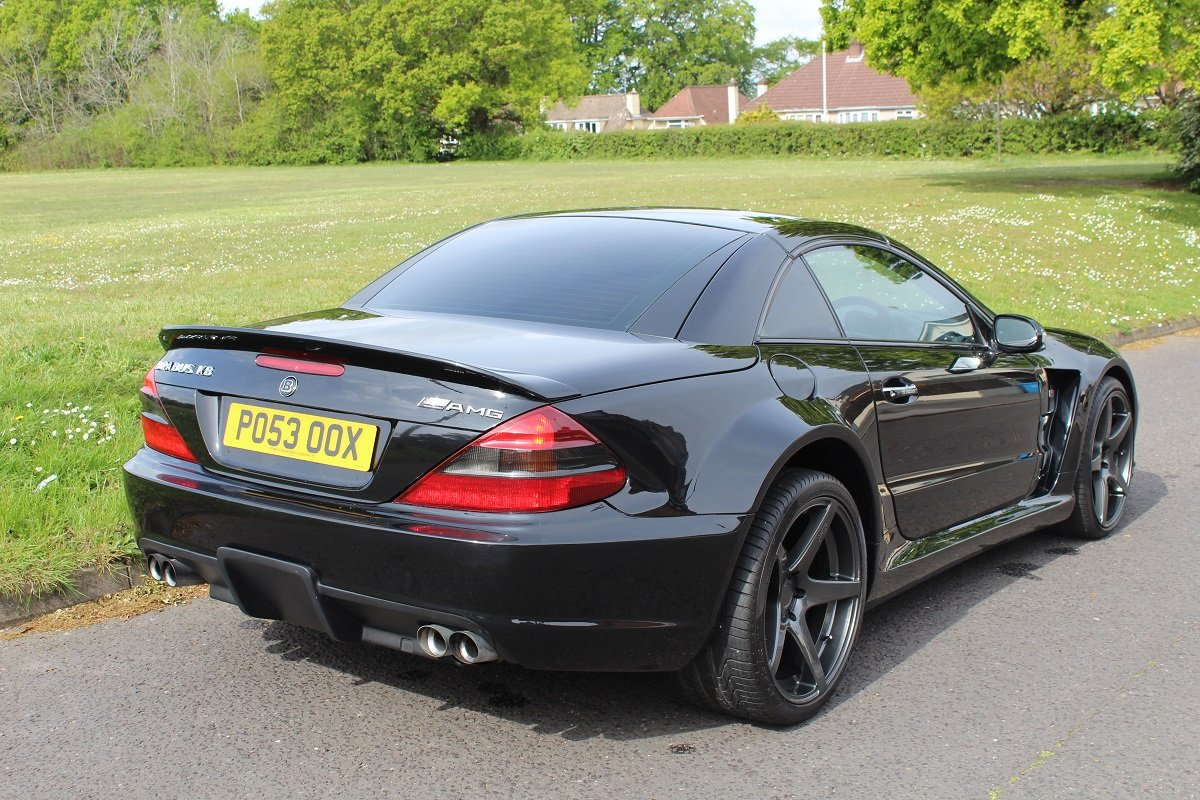 Mercedes SL55 AMG Brabus K8 2003 - To be auctioned 26/07/19 For Sale by Auction (picture 6 of 6)