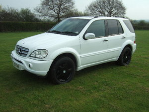2003 Mercedes ML55 AMG 5.5 V8 4x4 only 78000 miles For Sale