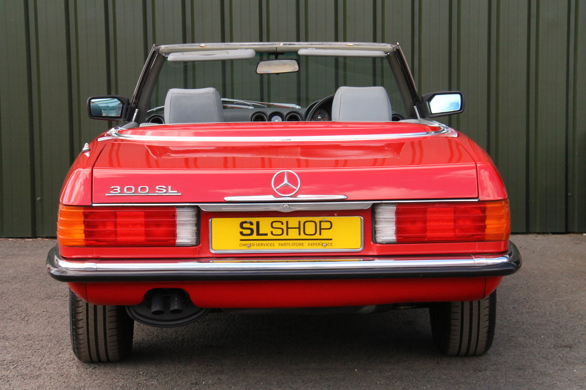 1988 Mercedes-Benz 300SL (R107) Just 35,649 Miles #2076 For Sale (picture 6 of 6)