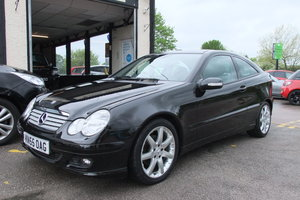 2005 MERCEDES-BENZ C-CLASS 1.8 C180 KOMPRESSOR SE 3DR AUTOMATIC For Sale