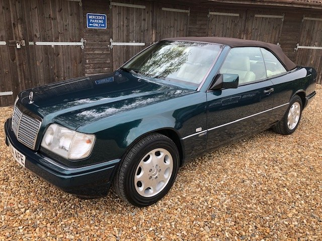 1996 Mercedes E220 Cabriolet Sportline For Sale (picture 1 of 6)