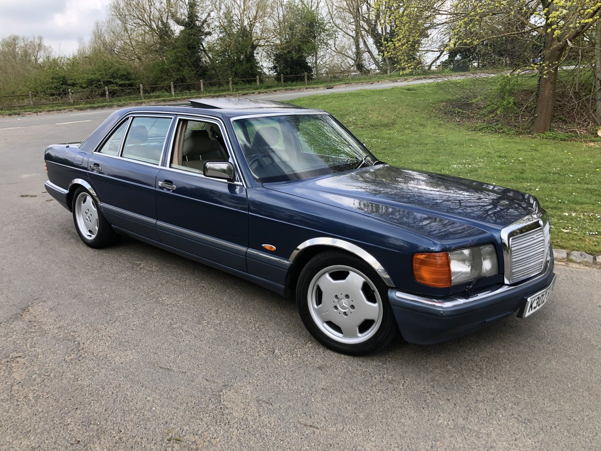 1992 MERCEDES SEL 500  For Sale (picture 1 of 6)