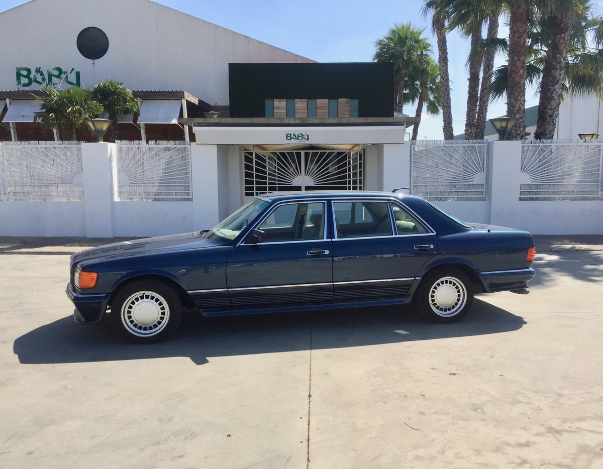 1983 MERCEDES 500SEL CARAT CLARITY BY DUCHATELET For Sale (picture 2 of 6)