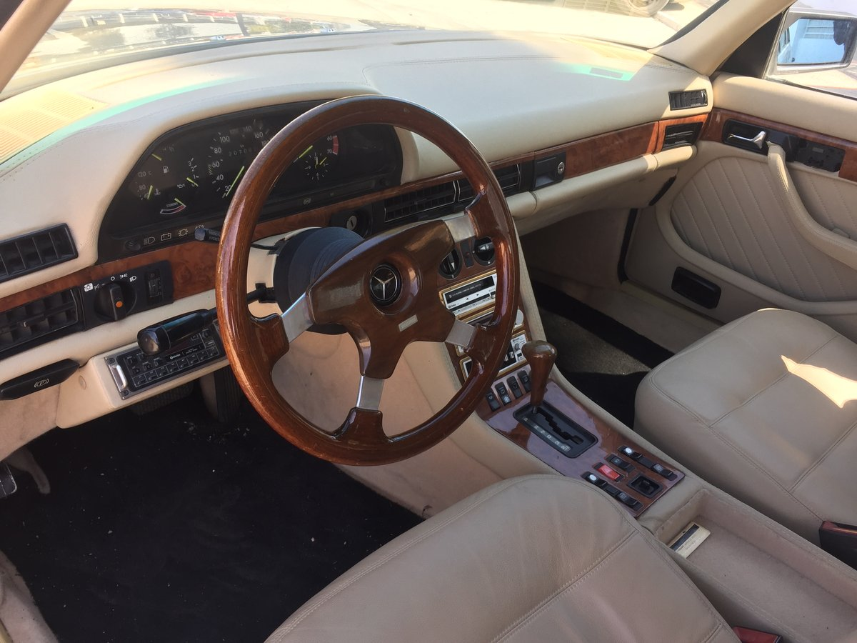 1983 MERCEDES 500SEL CARAT CLARITY BY DUCHATELET For Sale (picture 4 of 6)