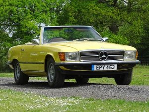 1973 Mercedes-Benz 350 SL For Sale by Auction