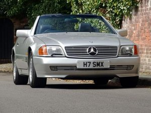 1990 Mercedes-Benz 500 SL ex-Stirling Miss OBE For Sale by Auction