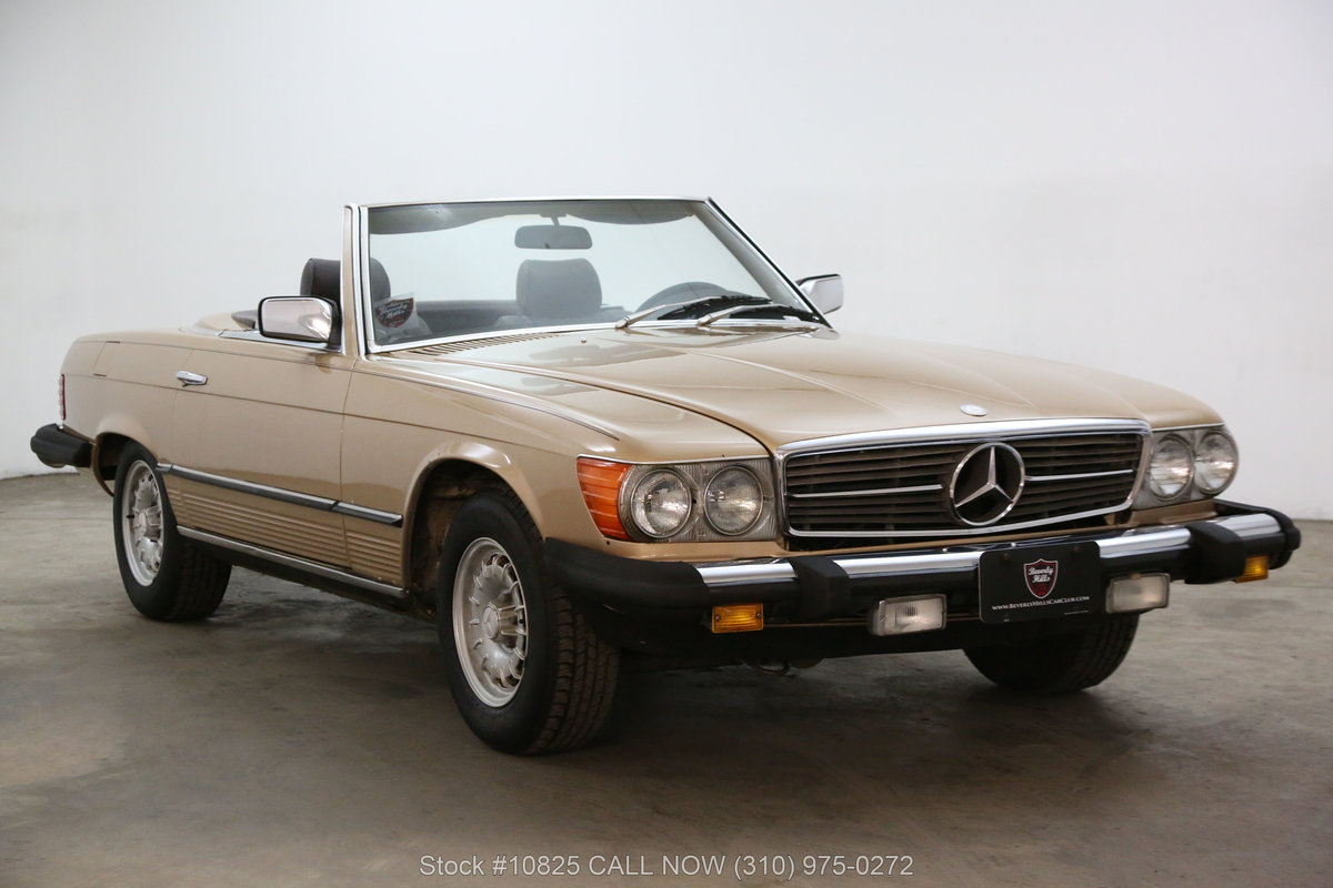 1982 Mercedes-Benz 380SL For Sale (picture 1 of 6)