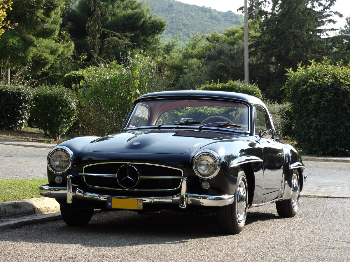 1961 Mercedes-Benz 190SL Coupe with Soft Top, Concours cond. For Sale (picture 1 of 6)