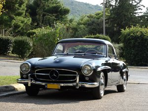 1961 Mercedes-Benz 190SL Coupe with Soft Top, Concours cond. For Sale