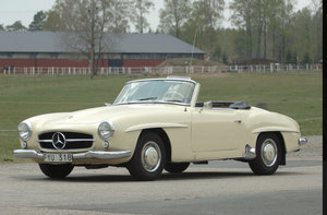 1956 Mercedes 190SL /Hardtop same owner since-58 For Sale