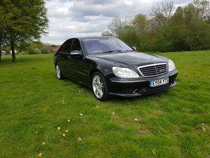 2004 Mercedes S55 AMG LWB  --  No Reserve Car