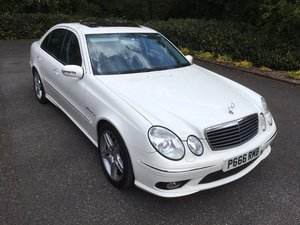 2006 MERCEDES E55 AMG SUPERCHARGED, 35000 MILES WARRANTED For Sale