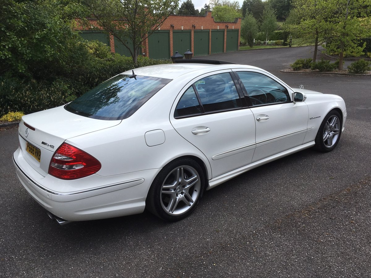 2006 MERCEDES E55 AMG SUPERCHARGED, 35000 MILES WARRANTED For Sale (picture 3 of 6)