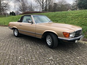 1985 MERCEDES-BENZ 380SL R107 with fresh painwork For Sale by Auction