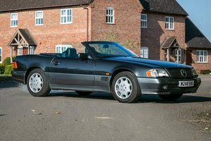 1995  Mercedes SL500 R129 - Just 28,000 miles from new! For Sale by Auction