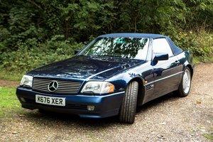 1995 MERCEDES-BENZ SL600 V12 (R129) Est £17,000-£20,000 For Sale by Auction