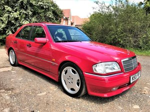 1995 Mercedes AMG C36 + 3 previous owners +long MOT + UK car For Sale